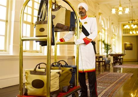 Dom Reilly luggage Raffles